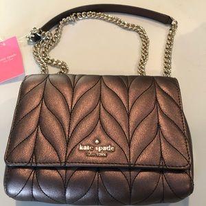 Kate Spade Mini Emelyn Briar Lane Quilted Bag, NWT